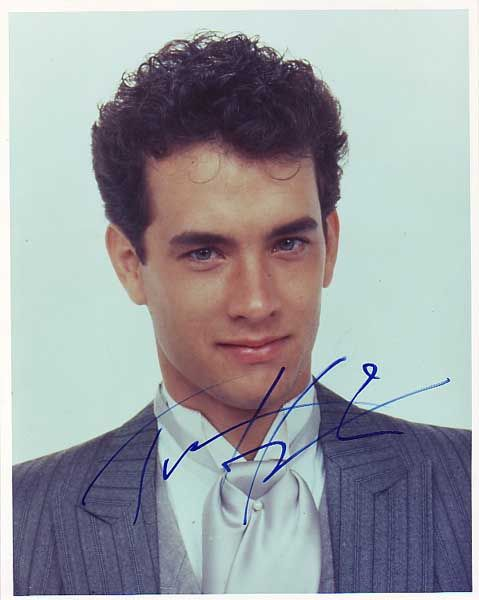 Tom Hanks. Oh God... nothing is more adorable than a young Tom Hanks.