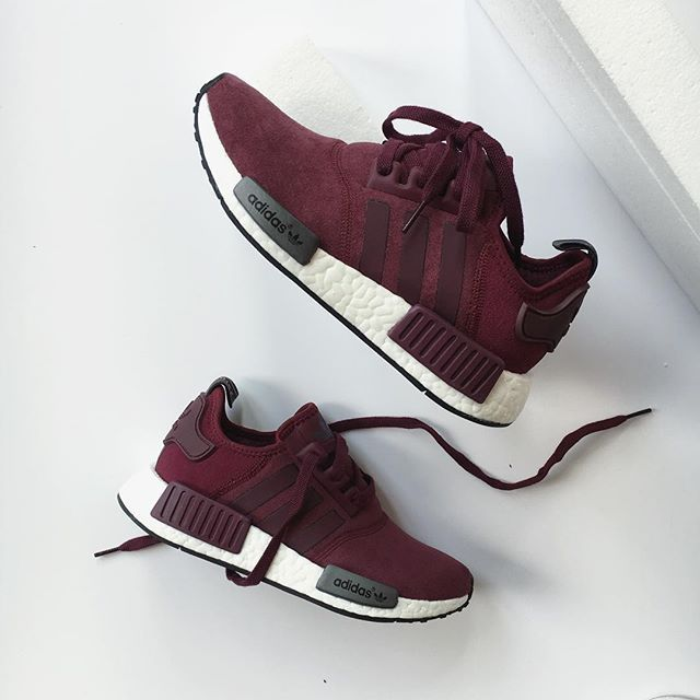 Adidas NMD R1 Original Purple White Shoes UK Cheap Sale