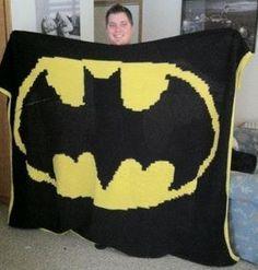 Crochet Batman Blanket Free Pattern