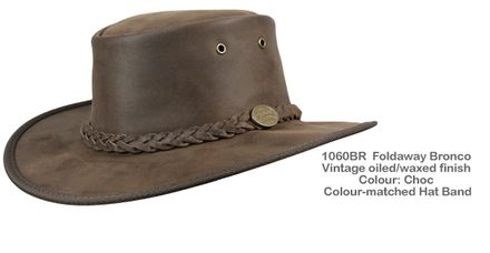 Alpine Shop   BARMAH Foldaway Bronco Hat -Alpine Shop Ltd