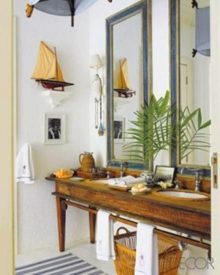57 best Nautical Themed Bathrooms images on Pinterest ...