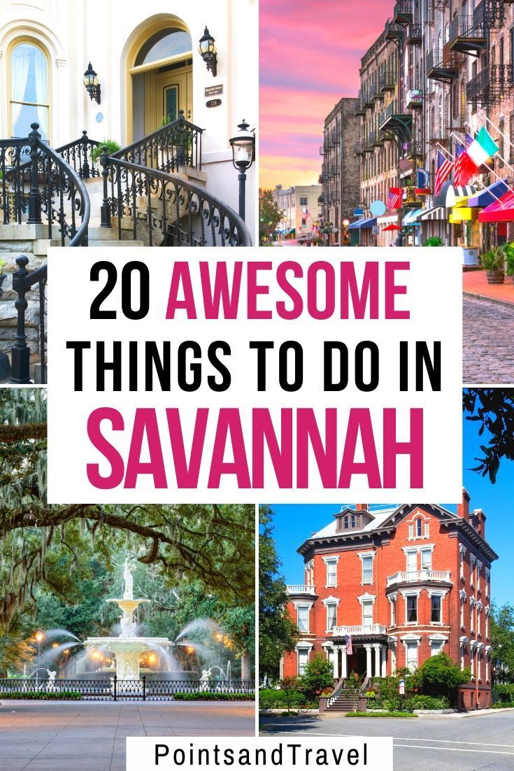 Savannah Ga Guide To The Best Things To Do Savannah Chat Travel Usa American Travel