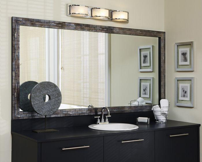 Mirror Frame Ideas & Bathroom Mirror Ideas | MirrorMate Frames