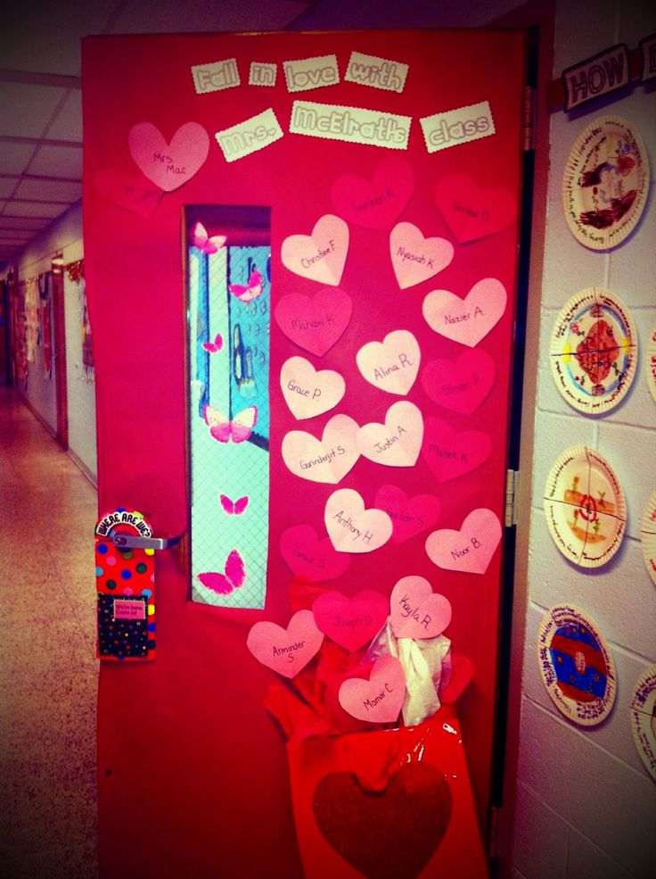 Classroom Door Decoration Ideas Valentines Day ~ Valentines day classroom door decor