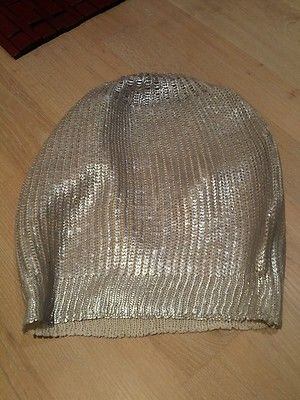 Hat Knit Silver Club Beanie Summer Disco New Women'S | eBay