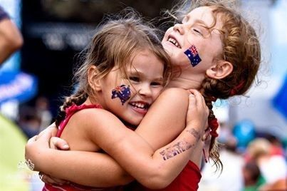 Australia Day party supplies celebrate great mates on January 26th - wear a tattoo to show your a true Aussie !