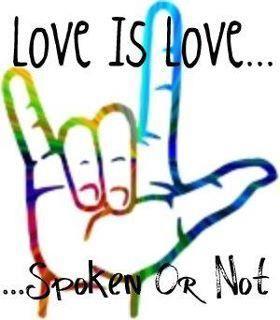 sign language, i love you