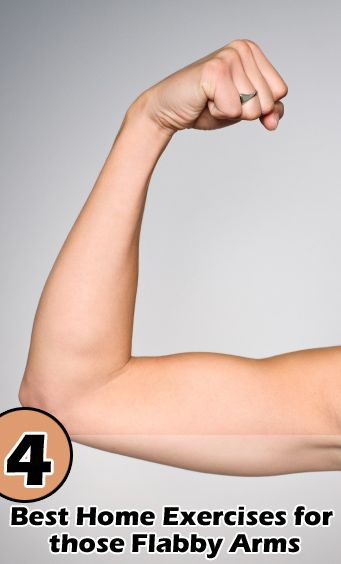 4 Best Home Exercises for those Flabby Arms. Could also do this at work when no one's looking :)