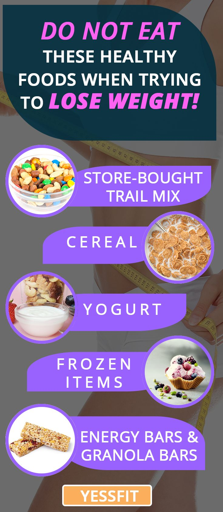 What foods not eat to lose weight