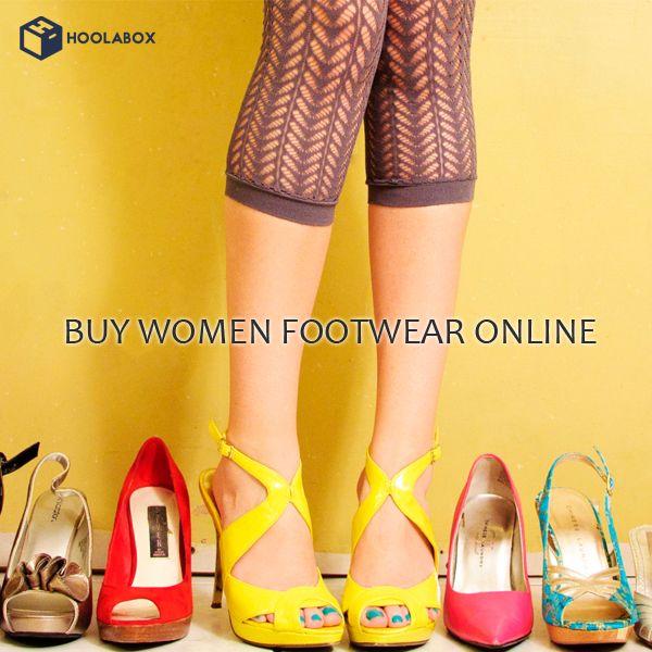 Buy Women's Footwear online at best prices. Explore huge range of branded Heels, Casual Shoes, Sandals, Slipper, Wedge, Flip- Flops, Flats, Peeptoe & more at Hoolabox. Best Online Shopping Store for Women's fashionable footwear.  Please Visit:- http://hoolabox.com/31-women-footwear