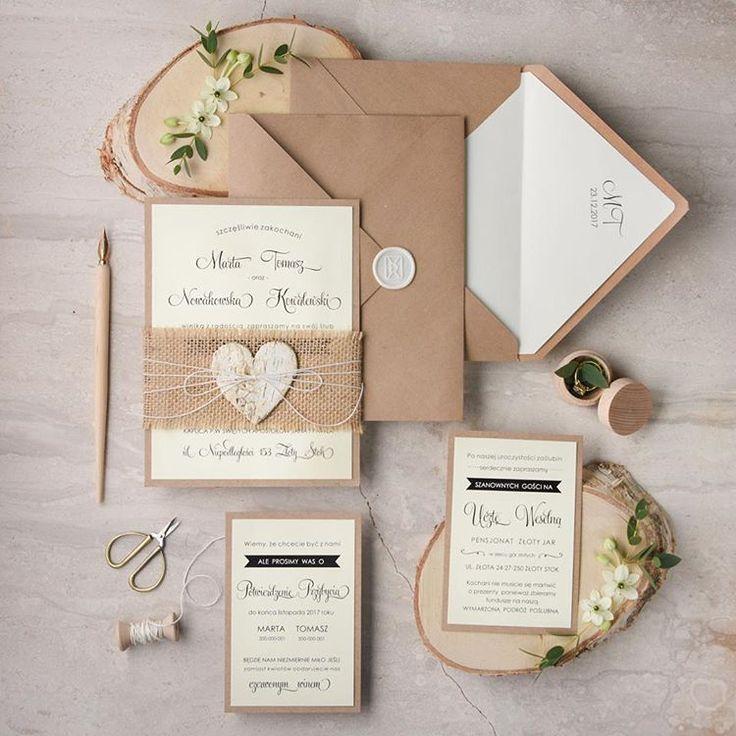 how to make film canister wedding invitations%0A Prosto i eco  decoris  powiedzialamtak  rustykalnyslub  zaproszeniaslubne   rustykalne  eco