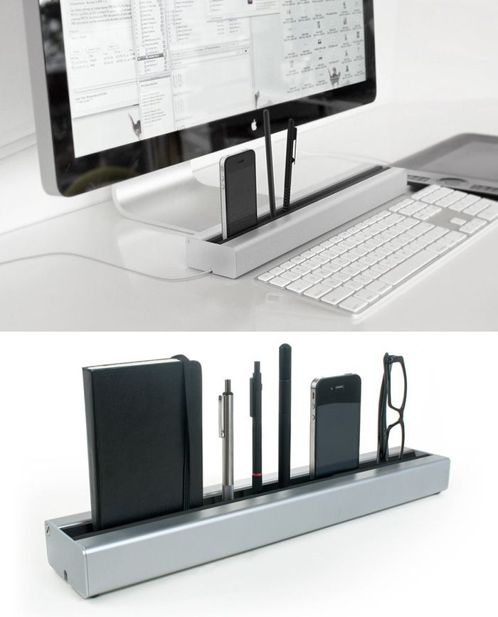 Keep your desk clutter-free!