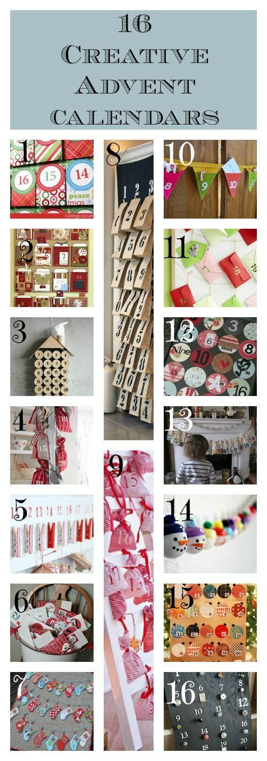 16 Creative Advent Calendars or Advent Alternatives
