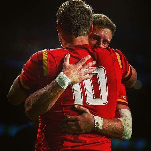 Dan Biggar and Rhys Priestland