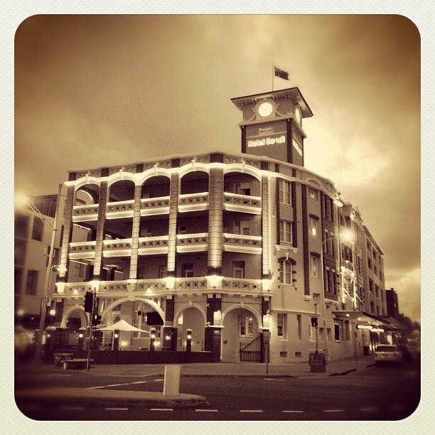 Hotel Bondi #HotelBondi #atbondi #bondi #hotel #sydney #architecture #building #heritage #sepia