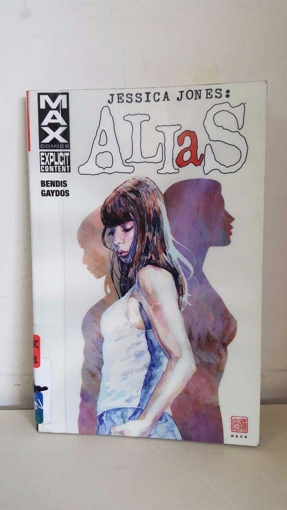 JESSICA JONES ALIAS VOL. 1 MAX COMICS GRAPHIC NOVEL MARVEL LIBRARY EDITION 2015