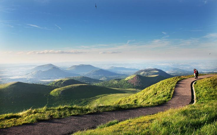 Auvergne Via Deborah Harkness. Beautiful countryside! Shadow Of Night, A Discovery Of Witches, All Souls Trilogy