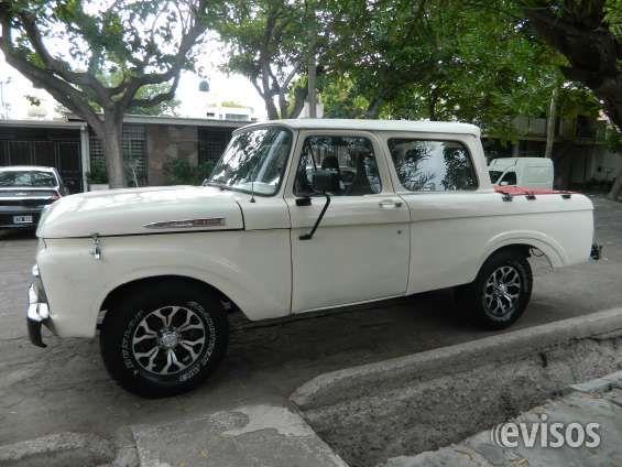 VENDO PICK UP FORD 1961 DOBLE CABINA CAMIONETA Pick up Ford 1961  Doble cabina. Muy pocas de este modelo  Motor V8 original de fábrica  GNC con 2 ... http://guaymallen.evisos.com.ar/vendo-pick-ford-1961-doble-cabina-id-960975