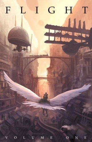 Flight, graphic novel, cover art