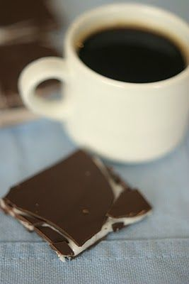 Yummy homemade After Eight!
