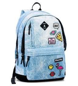 (1) Mochila Escolar Juvenil Peanuts Snoopy Azul Marinho - R  169 f0790dda776