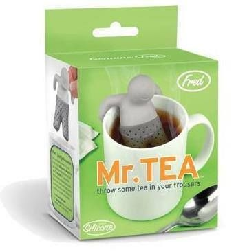 Mr Tea Infuser - Fred And Friends  #cool #gift #gifts #mzube #birthday #stocking #shopping #xmas #santa #sale   http://www.mzube.co.uk
