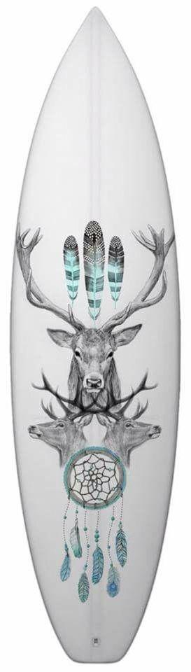 Surfboard art by Matt Jarvis-Cleaver