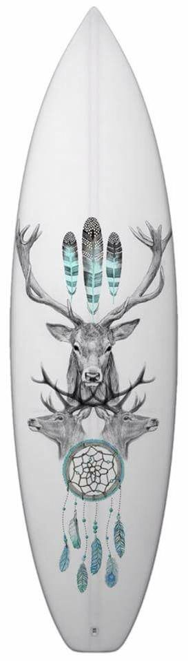 Surfboard art by Matt Jarvis-Cleaver. I love this!!!!