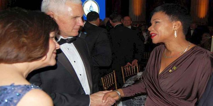 "Top News: ""JAMAICA POLITICS: Audrey Marks Sends Best wishes to Trump"" - http://politicoscope.com/wp-content/uploads/2017/02/Mike-Pence-and-Audrey-Marks-USA-NEWS-JAMAICA-NEWS-IN-POLITICS-HEADLINE-STORY.jpg - Jamaica's Ambassador to US Audrey Marks, extended best wishes to United States President Donald Trump and his Cabinet for a successful tenure in office.  on World Political News - http://politicoscope.com/2017/02/05/jamaica-politics-audrey-marks-sends-best-wishes-to-trum"