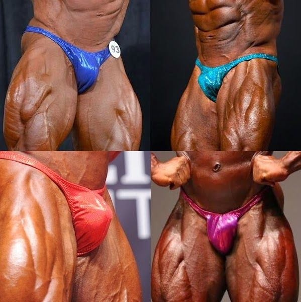 MUSCLE ADDICTS INC: THE BIGGEST BULGES IN BODYBUILDING