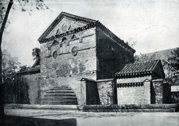 166.  Баптистерий  Сен Жан  в Пуатье.  Конец 7 в.
