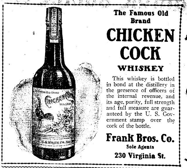 Cock of the north whiskey