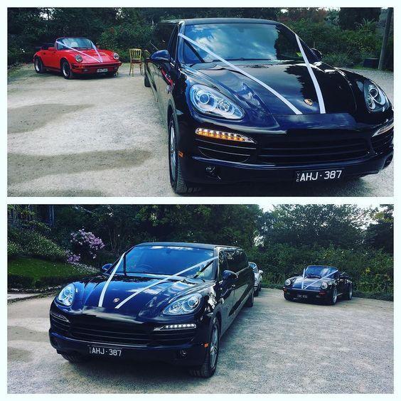 Today's Porsche Frenzy!!Porsche Cayenne Limousine & 2 x Porsche Classics. Call 1300-2-EXOTICAR or http://ift.tt/UKad1D for Melbourne's best quotes. #limohiremelbourne #melbournewedding #weddingcarsmelbourne #porsche #porschecayenne #porschelimousine #porschelimohire #exoticareuroluxuryhire #blacklimo #blacklimomelbourne #blacklimohire #porschecayennelimousine #porsche911 #porschefrenzy by exoticareuroluxuryhire