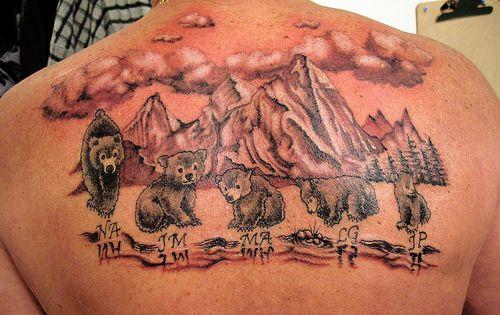 Bear cub tattoos photo tattoos pinterest cubs for Bear cub tattoo