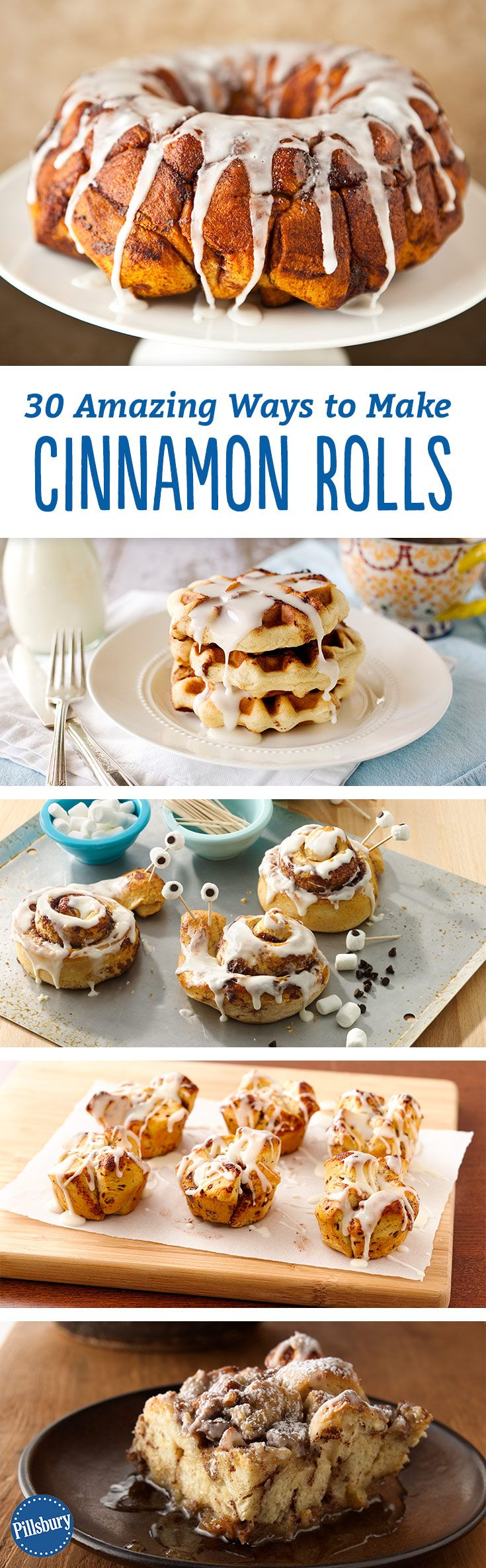 Breakfast just got 30 times better! Pillsbury Cinnamon Rolls are the best thing to happen to mornings since coffee. And we have 30 amazing recipes you must try. Did we mention we like cinnamon rolls?! Serve them for family for a weekend breakfast or frien (Best Cake For Men)