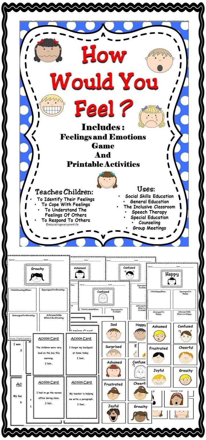 help children recognise their feelings and emotions 30 activities and printables that teach emotions for kids help your child explore their feelings through color  help your child identify big emotions.