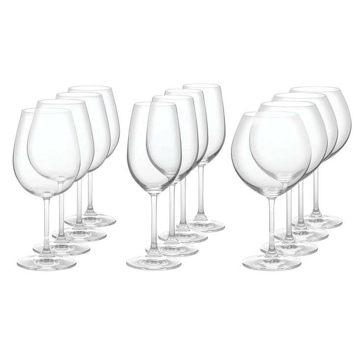 Marquis by Waterford 12-pc. Vintage Crystal Wine Glass Set, White