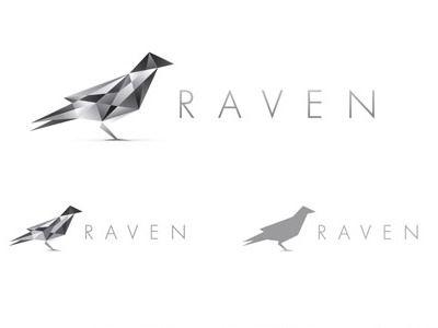 Raven Logo Design by Chris Spooner