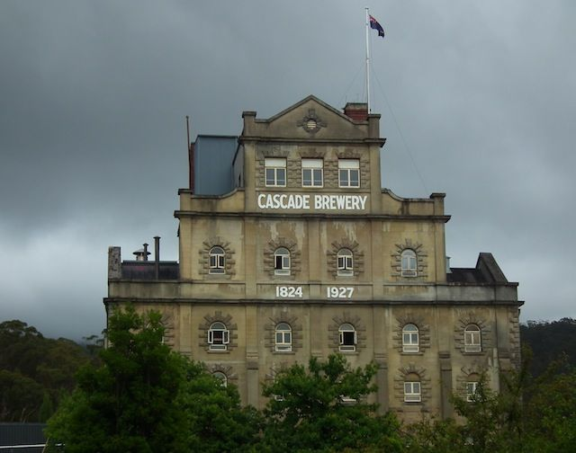 Beautiful, historic Cascade Brewery Hobart... not just for the beer lovers!