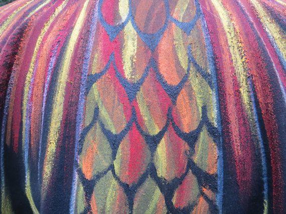 Phoenix Firebird Dragon vogel vleugels mantel door islesofday