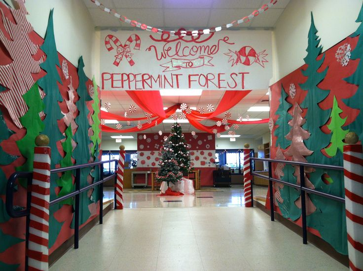 School Decorations For Winter Season Peppermint Can T