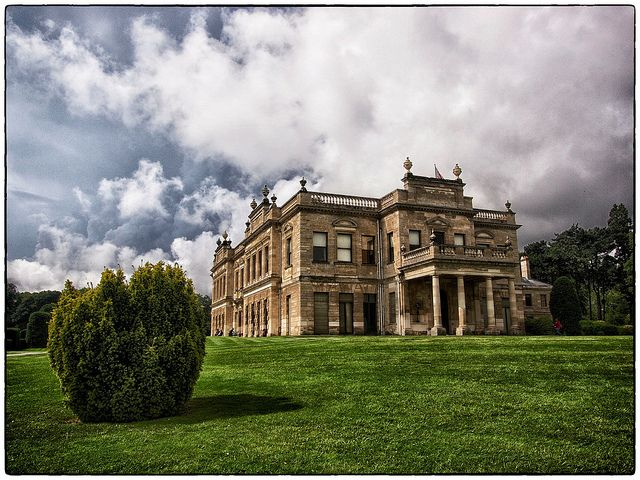 Brodsworth Hall, South Yorkshire, is one of the most complete surviving examples of a Victorian English country house and is virtually unchanged since the 1860s. It was commissioned by Charles Sabine Augustus Thellusson, who inherited the estate in 1859. The house has more than 30 rooms, ranging from grand reception rooms with original furnishings to the servants' quarters.
