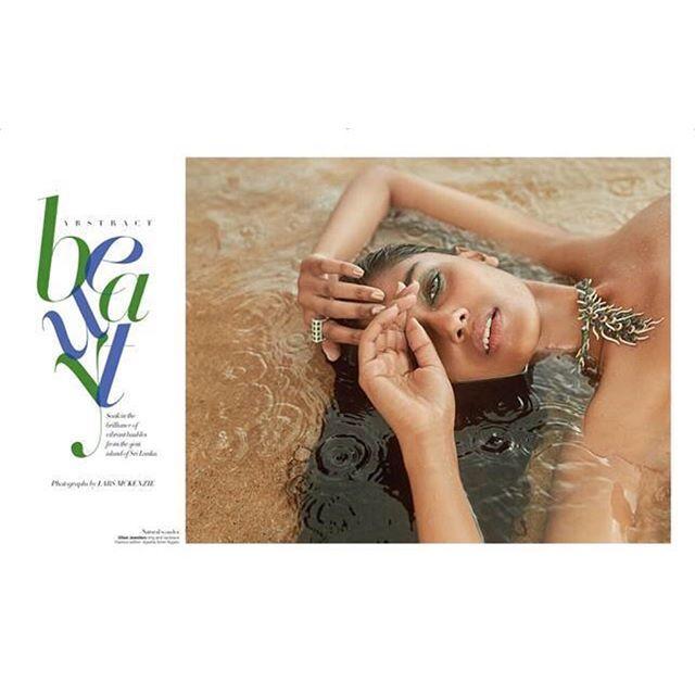 . . Harper's BAZAAR bride India 「New Beauty story」 💎🦋💎🐠💎🐚💎🦋💎🐠 . Hair & Make by @biancahartkopf . #夏 らしく#glamorous な写真です💚💚🏝 . ______________________________________ #biancahartmakeup #bianca #ビアンカ #hairmake #hairmakeartist #hair #makeup #ヘアメイク #ヘアー #メイク #ヘアメイクアーティスト #hairmakeup #harpersbazaar #beauty #india #ハーパーズバザー #magazine #photo #ファッション誌 #fasion #artist
