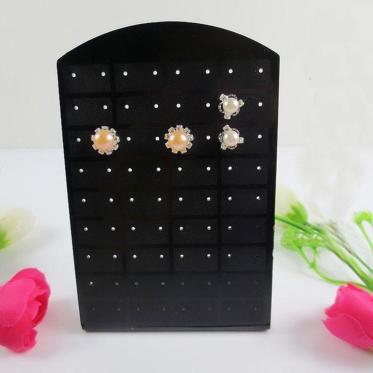 72 Holes earrings Ear Studs Show Plastic Display Rac St Orgaizer Holder Christmas