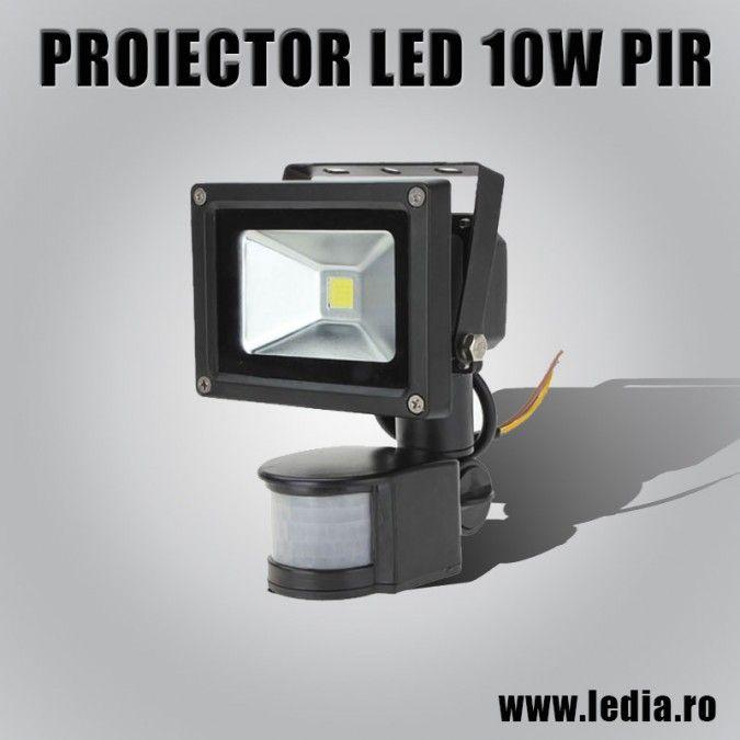 PROIECTOR LED 10W SENZOR