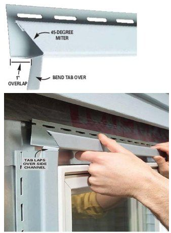 Best 25 vinyl window trim ideas on pinterest diy - How to repair exterior window trim ...