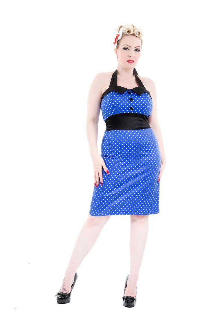 Satin Dotty dress | H&R London
