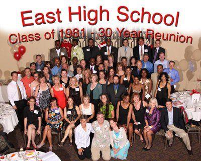 1981 reunion Denver East High School