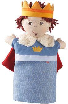 HABA - Erfinder für Kinder - Handpuppe Prinz - Handpuppen - Puppen - Spielzeug & Möbel