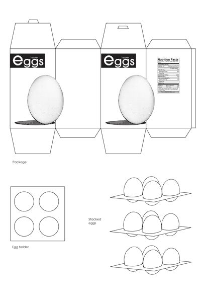 554 best images about miniature store on pinterest for Egg carton labels template